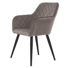 Крісло Antiba пудровий сірий