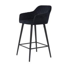 Барный стул Antiba чёрный