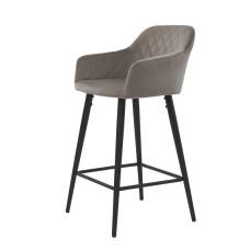 Барный стул Antiba пудровый серый
