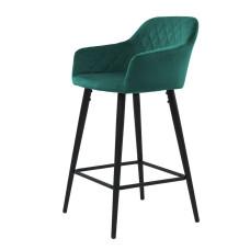 Барный стул Antiba зелёный азур