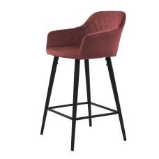 Барный стул Antiba гранат
