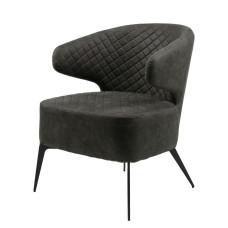 Крісло лаунж Concepto Keen нафтової сірий