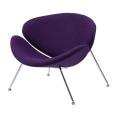 Крісло лаунж Concepto Foster фіолетове