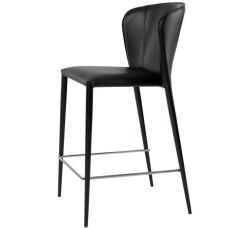 Полубарний стілець Arthur чорний