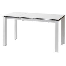 Стол керамический Bright Pure White 102-142