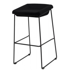 Полубарний стілець Coin чорний