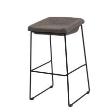 Полубарний стілець Coin сірий