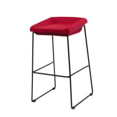 Барный стул Coin красный