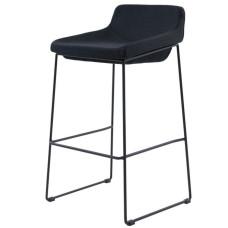 Полубарный стул Comfy чёрный