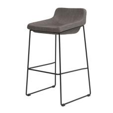 Барный стул Comfy серый