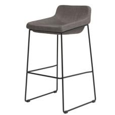 Полубарный стул Comfy серый