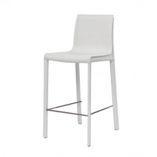 Полубарный стул Ashton белый
