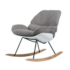 Крісло-гойдалка Serenity сіре