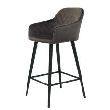 Барный стул Antiba серо-коричневый
