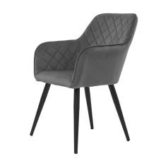 Крісло Antiba темно-сіре