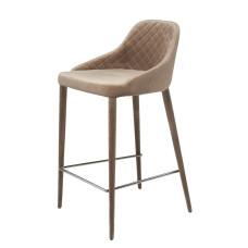 Полубарный стул Elizabeth бежевый