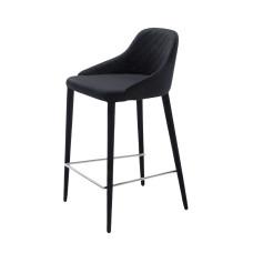 Полубарный стул Elizabeth чёрный