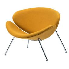 Крісло лаунж Concepto Foster жовтий каррі