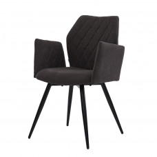 Крісло Glory вугільний сірий