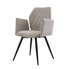 Крісло Glory теплий сірий