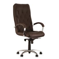 Крісло керівника CUBA steel chrome LE