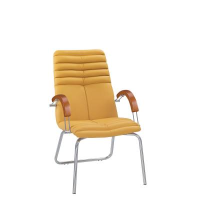 Кресло руководителя GALAXY wood CFA LB chrome LE - купить в Житомире с доставкой по Украине