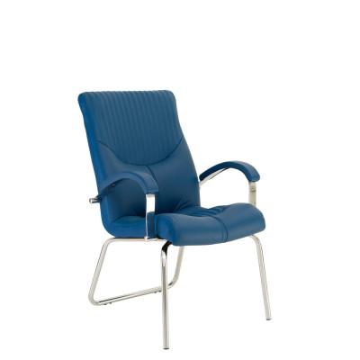 Кресло руководителя GERMES steel CFA LB chrome LE - купить в Житомире с доставкой по Украине