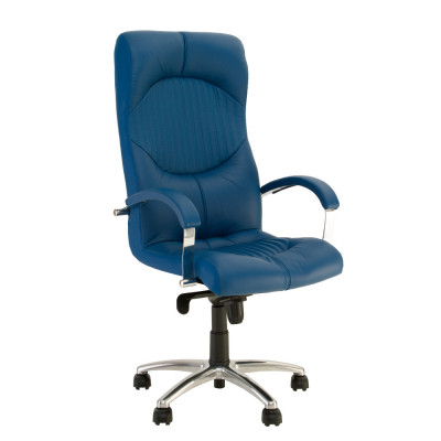 Кресло руководителя GERMES steel chrome LE - купить в Житомире с доставкой по Украине