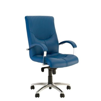 Кресло руководителя GERMES steel LB chrome LE - купить в Житомире с доставкой по Украине