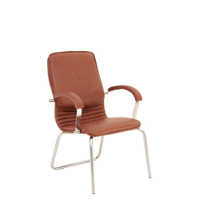 Кресло руководителя NOVA steel CFA LB chrome LE - купить в Житомире с доставкой по Украине