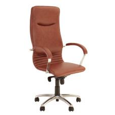 Крісло керівника NOVA steel chrome LE