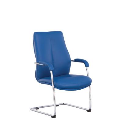 Кресло руководителя SONATA CF LB steel chrome LE - купить в Житомире с доставкой по Украине