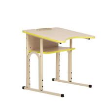 Стіл учнівський E-163/1 (16R) PK alu (BOX)
