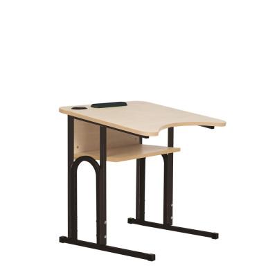 Стол ученический E-163/1 PK black NS