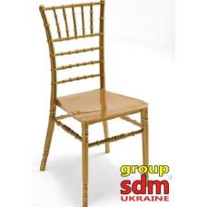 Штабельований стілець Чіаварі золотий