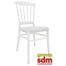 Штабельований стілець Донна білий