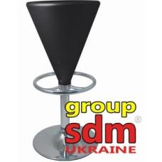 Стул барный SDM Коно пластик чёрный