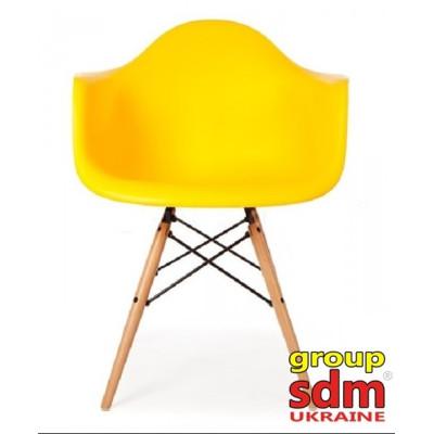 Крісло SDM Тауер Вуд жовте