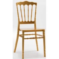 Штабельований стілець Наполеон золотий