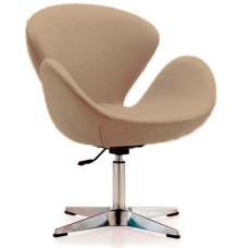 М'яке крісло Сван коричневе