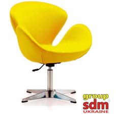 Крісло Сван жовтий