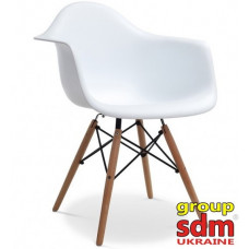 Кресло SDM Тауэр Вуд белый