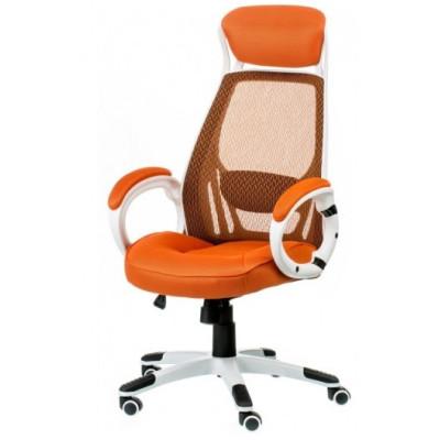 Ігрове крісло Briz orange / white