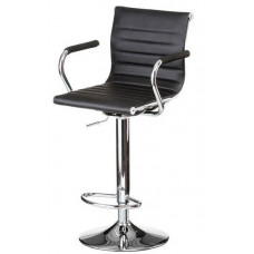 Барний стілець Bar black plate