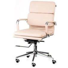 Кресло офисное Special4You Solano 3 artleather beige