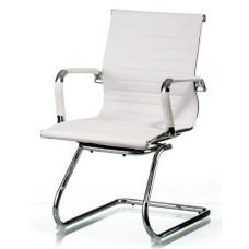 Конференционное кресло Special4You Solano office artleather white